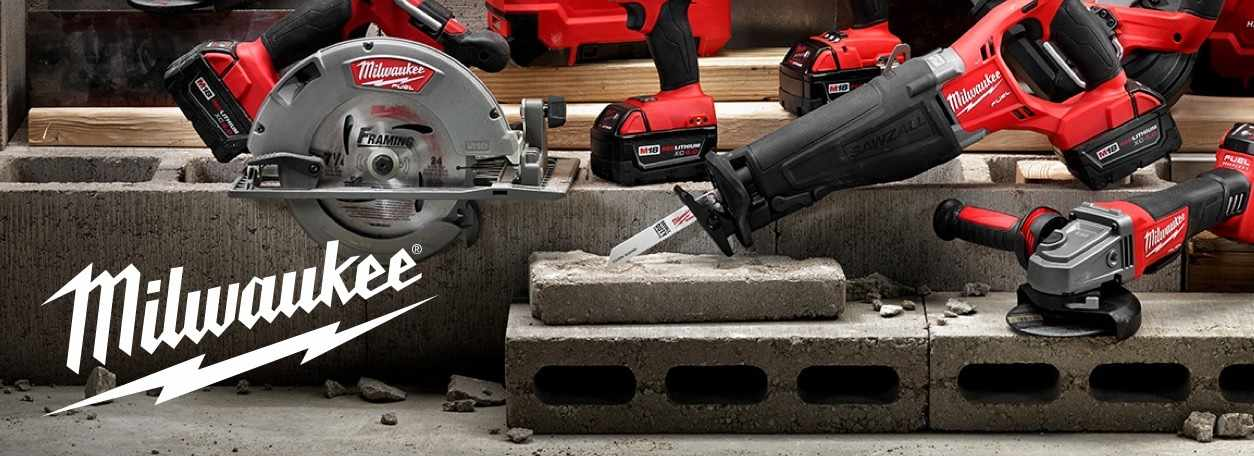 More about Milwaukee power tools at Califon Lumber