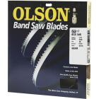 Olson 59-1/2 In. x 1/4 In. 6 TPI Hook Wood Cutting Band Saw Blade Image 1