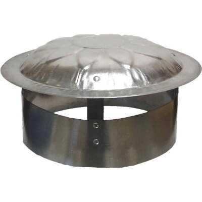 S & K Galvanized Steel 9 In. x 12 In. Vent Pipe Cap