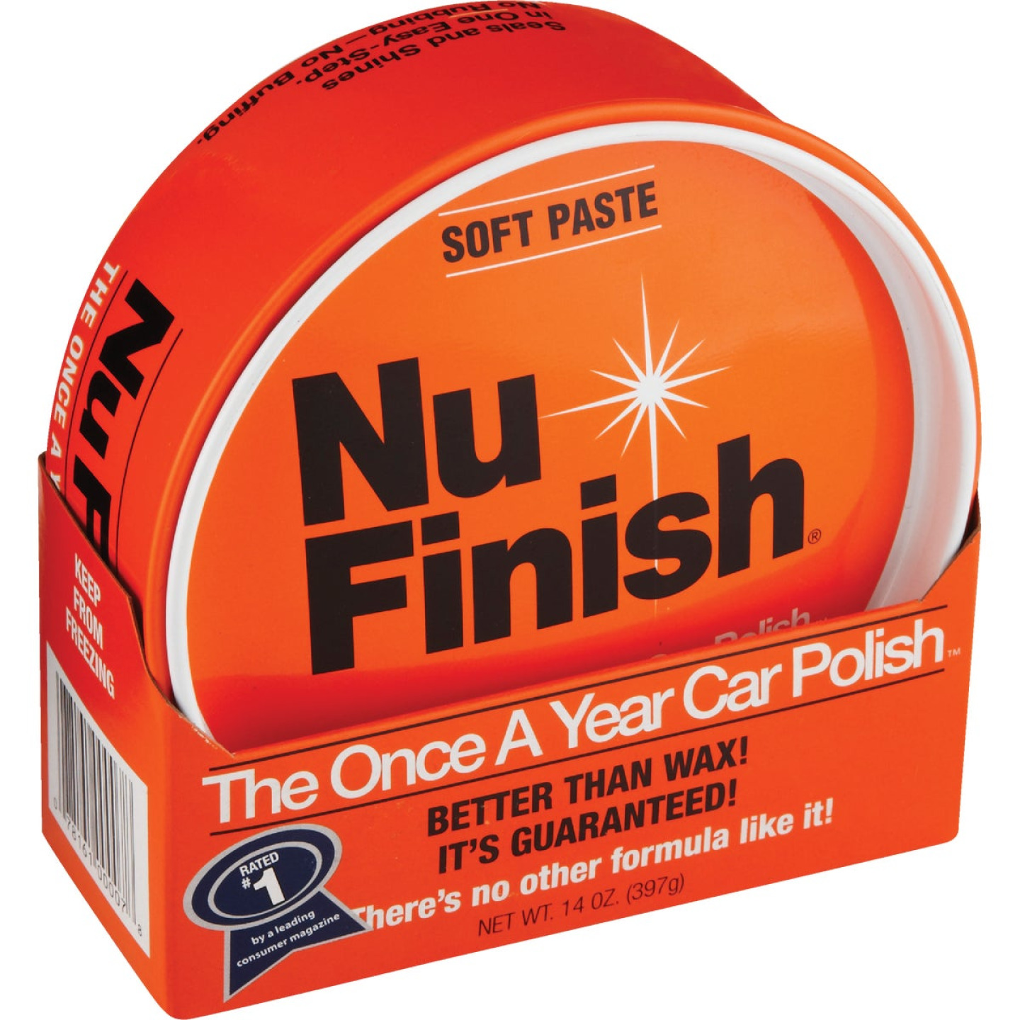 Nu Finish 14 Oz. Paste Car Wax Image 1
