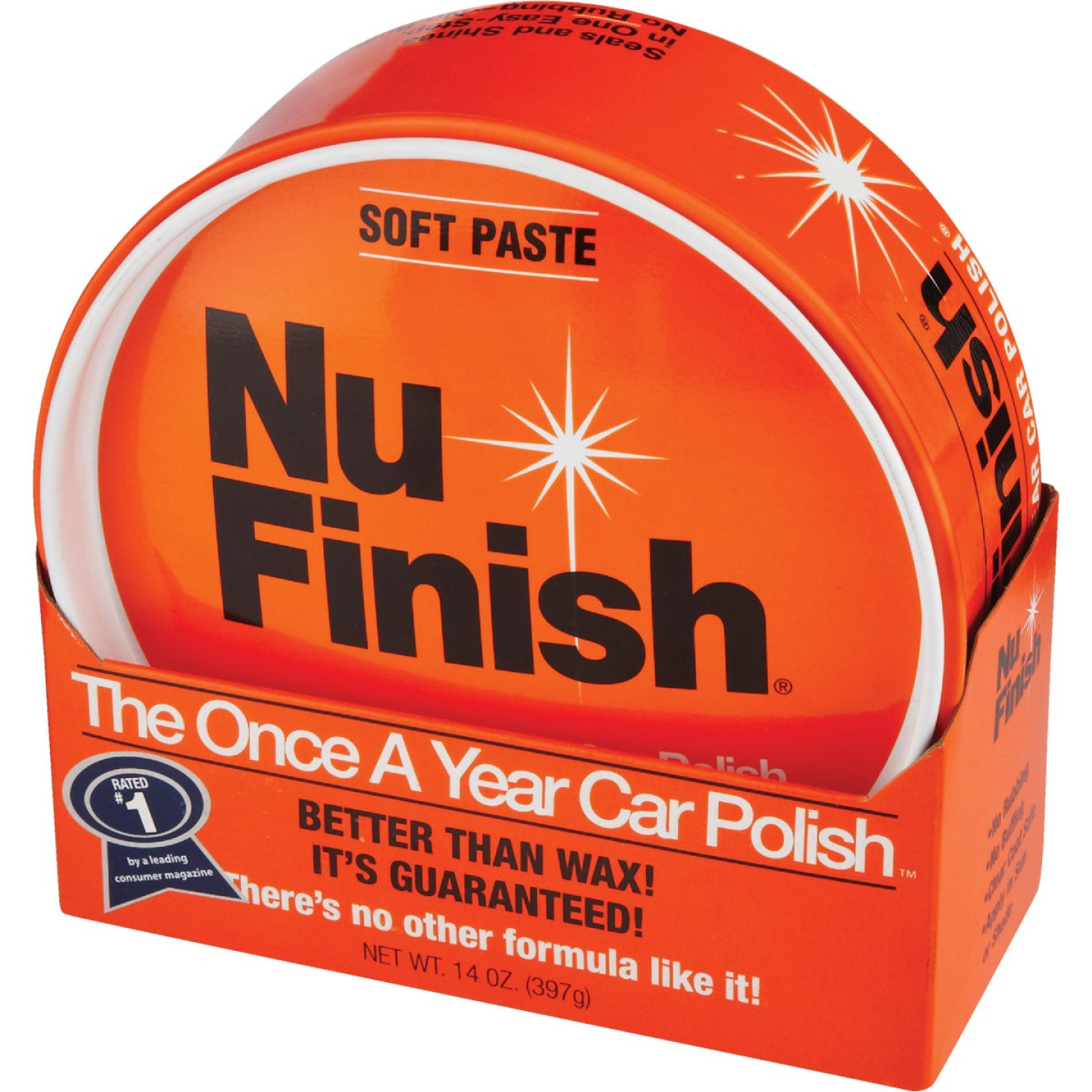 Nu Finish 14 Oz. Paste Car Wax Image 2
