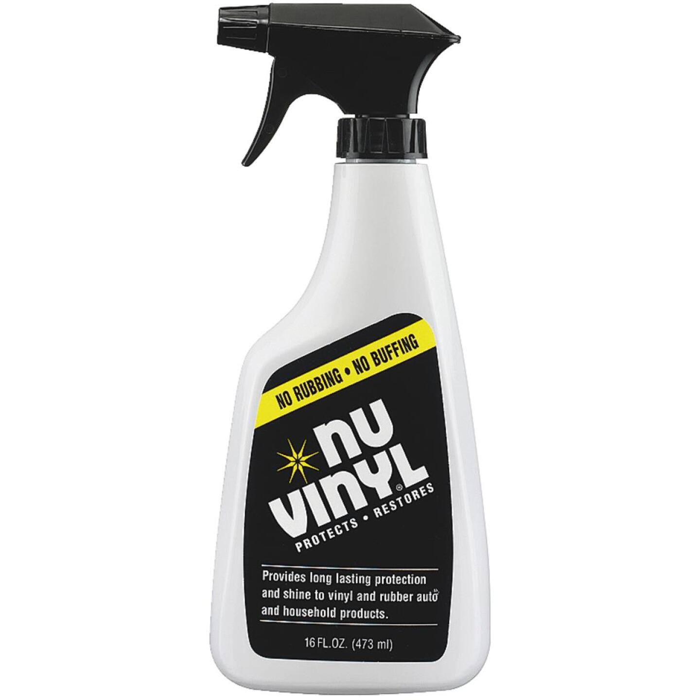 Nu Vinyl 16 Oz. Trigger Spray Protectant Image 1