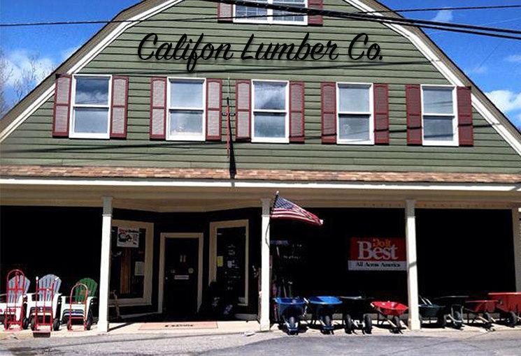 califon lumber storefront